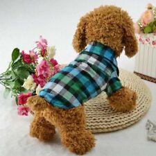 Dog T Shirt Summer Pet Clothes Puppy Cat Shirt Coat Vest Apparel Costume Sweater