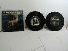 "Uranus: Disaster By Design VERSE5 2X Vinyl 7"" Maxi Single 33 ⅓ RPM Gatefold  VG+"
