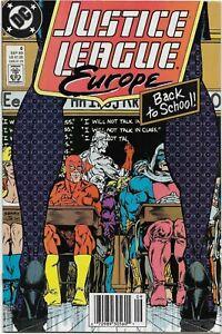 Justice League Europe #6 - VF/NM - Night School