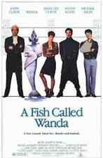 A FISH CALLED WANDA 1988 THEATRICAL MOVIE POSTER Cleese, Lee Curtis, Palin