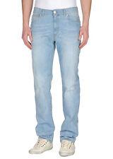 TRUSSARDI JEANS Jeans lavaggio chiaro gamba regular su coscia e fondo in PROMO