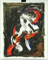 William T Wiley Abstract Modern Painting Art San Francisco Listed Artist Signed