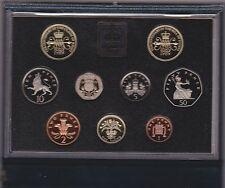 1989 prova Standard Set di 9 MONETE include la rivendicazione di diritti £ 2 Coin