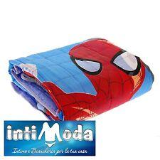 Trapuntino Marvel Spiderman copriletto trapuntato 170x250cm primaverile estivo