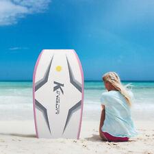 41'' Lightweight Bodyboard Surfing Body Board Kids Adult Water Park Bench Pink
