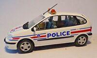 RENAULT MEGANE SCENIC POLICE NATIONALE 2002 - ATLAS 1:43