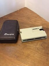 Vintage Ranging M100 Optical Tapemeasure With Soft Case - Made in USA