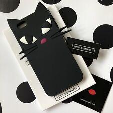 Genuine Lulu Guinness Kooky GATTO iPhone 6 e 6s Custodia Cover-NUOVO CON ETICHETTE