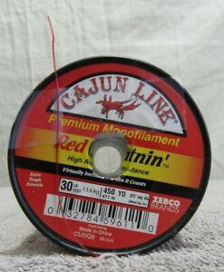 Cajun Line 450 Yards Premium Mono 30 Pounds (CL30QB ZS1416)