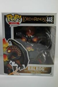 f43) Funko Pop Movie Vinyl Figur Lord of the Rings Herr der Ringe BALROG #448