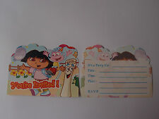 Dora The Explorer Birthday Party Invitations Pk8