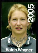 Katrin Wagner Kanu TOP AK Orig. Sign.+81735 + A 71267