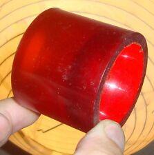POWER PAW - '70s Old School Skateboard Wheels - Clear Red / Orange Fade  -55mm