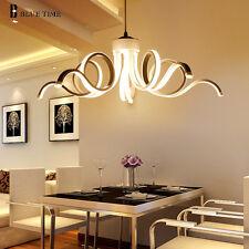 Modern LED Chandelier Lighting Fixture Pendant Restaurant Ceiling Lamp WarmWhite