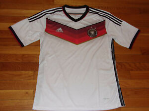 ADIDAS CLIMACOOL GERMANY DEUTSCHER SHORT SLEEVE SOCCER JERSEY MENS LARGE EXC.