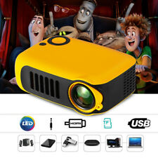 MINI Proiettore Full HD 1080P LCD Video USB Portatile Pr Teatro Casa TV BOX