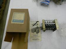 New General Time Talley Repeat Cycle Timer RE64A093A 4 Switch  A1