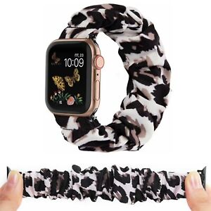 Scrunchie Loop Band Strap FOR 38/40mm 42/44mm Apple iWatch Series 6 5 4 3 2 1 SE