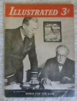 WW2 Vintage Illustrated Magazine-December 2nd 1939-No. 40. Vol. 1.