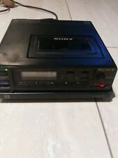 SONY EVC-8 VIDEO CASSETTE RECORDER& FOR PARTS VIDEO CAMERA RECORDER CCD-M8