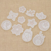 Sailor Moon Star Anime Silicone Mold 3D DIY Transparent Clear Craft Making Tool