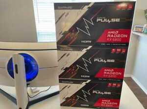 SAPPHIRE Pulse AMD Radeon RX 6800  16GB GDDR6 Graphic Card