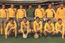 NORWICH CITY FOOTBALL TEAM PHOTO 1968-69 SEASON