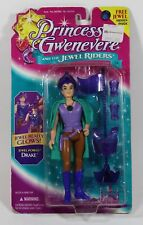 """1995 Kenner Princess Gwenevere 6.5"""" Drake doll action figure Mint On Sealed Card"""