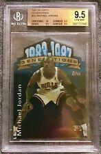 Michael Jordan 1997 Generations #G2 Gem Mint BGS 9.5 With A 10! BEST AVAILABLE!
