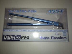 "BaBylissPRO Nano Titanium 1-1/2"" Ultra-Thin Straightening Iron"