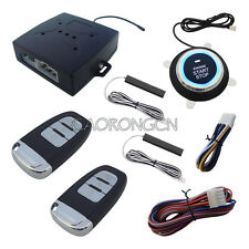 Smart PKE Car Alarm Passive Keyless Entry With Remote Start Push Start Button