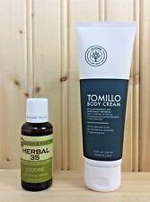 L`eudine Leudine Lot of 2 Herbal 35 - Tomillo Cream,  Headache, Stress, Relief