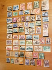 Peru Used early Stamp Lot From stamp album all different some unused