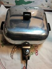 Vintage Sunbeam Electric Skillet Frying Pan High Dome Lid