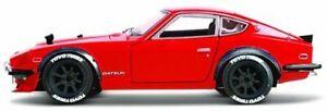 DATSUN 240Z diecast model road car metallic red 1971 1:18 Fairlady MAISTO 32611R