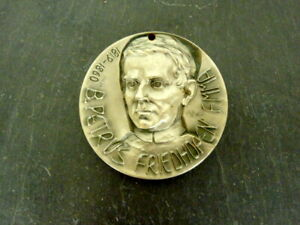 seltene alte Medaille Peter Friedhofen Maria Hilf signiert MiBa Sammlerstück