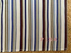 Thomas Pink Cotton Multi Stripe Print Pocket Square Men's Smart Occasion