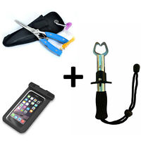 Fishing Pliers Scissors Line Cutter Hook Remover Gripper Cellphone Case