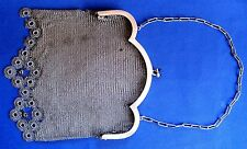 ANTIQUE BEAUTIFUL  Bags  MESH WITH Chain  SILVER Bags  ALL 232.2 gr