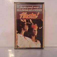 Compilation - Fiesta - Grands Succès Musique Sud-Américaine (Cassette Audio - K7