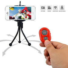 Extendable Handheld Selfie Self Phone Stick Monopod Bluetooth Remote Shutter,fr