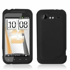 Silicone Skin Case for HTC Droid Incredible 2 - Black