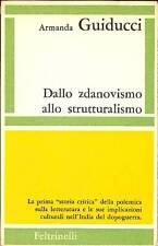 GUIDUCCI Armanda, Dallo zdanovismo allo strutturalismo