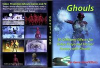 GHOULS, HALLOWEEN WINDOW PROJECTION DVD 2016 JON HYERS