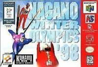 Nagano Winter Olympics 98 Nintendo 64 N64 Game Used