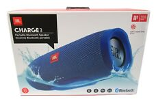JBL Charge 3 Waterproof Portable Bluetooth Speaker Blue  *CHARGE3BLU
