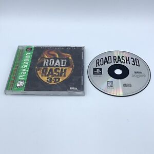 Road Rash 3D (Sony PlayStation 1, 1998) PS1 Complete
