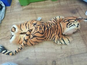"Anne Geddes. Sleeping Baby Tiger .9"" Collectible Beanie Plush Doll. 2000"