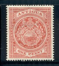 ANTIGUA 32 SG44 MH 1915 1p Seal of the Colony Wmk Mult Crown CA Cat$13