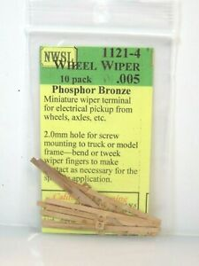 Northwest Short Line NWSL #1121-4 Bronze Wheel Wiper 10 Pack